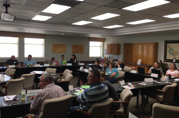 Financial Fitness for Life workshop at Choctaw Asset Building for training and support
