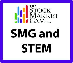 Stock Market Game and STEM button